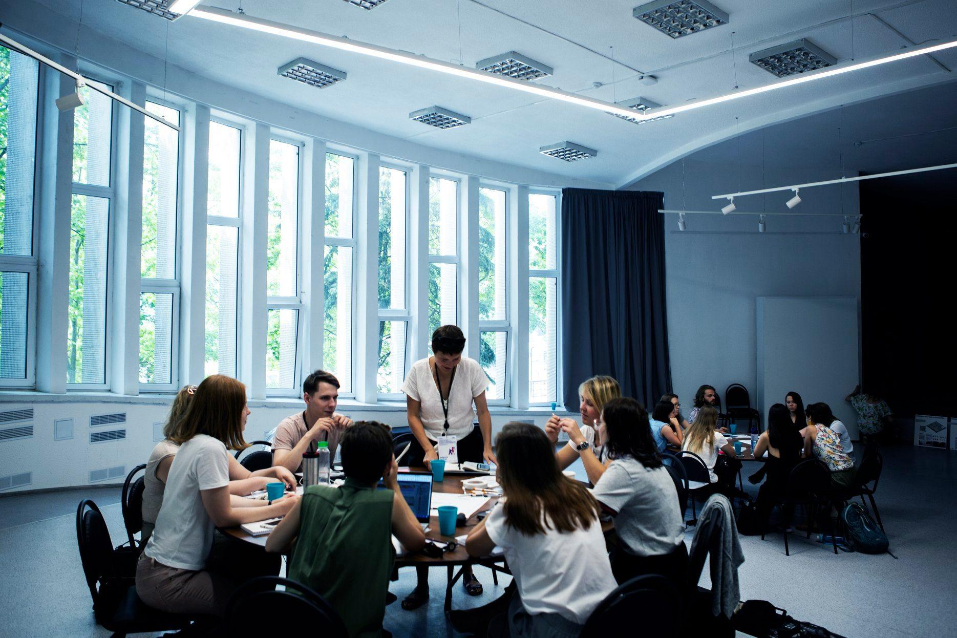 Летняя школа «Город как опыт». Фото – Александра Кононченко