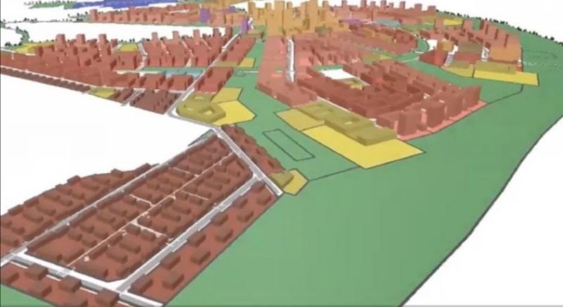 Проект умного энергопозитивного квартала Рублёво-Архангельское в Москве. Его строительство финансирует Сбербанк России