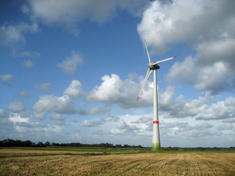 Самый высокий ветрогенератор в стране строят под Мстиславлем