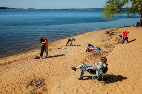 Где в Беларуси запретили купаться?