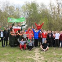 Более 300 кг мусора за 20 минут собрали участники брестских соревнований по экоспорту Green Workout