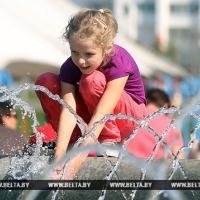 В Беларусь на этой неделе придёт жара: в Гродно до +26 и грозы