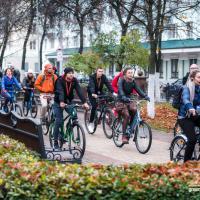 Сначала велопарад, потом велопрокат. Как прошёл форум «ПраРовар» в Гомеле (фоторепортаж)
