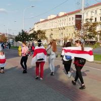 Как прошел самый громкий Женский марш. Фото и видео
