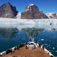 Ледники в Гренландии потеряли 600 млрд тонн льда за год. Это максимум с начала наблюдений