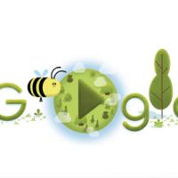 Google создал праздничный дудл ко Дню Земли