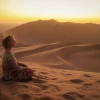 «Место, где ничего нет». Красивый фоторепортаж из пустыни Намиб