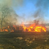 «Если дачников привести к сгоревшей бабушке, они, наверное, перестали бы жечь траву» — в Минске обсудили проблему весенних палов