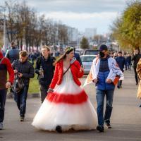 «За нами правда и мы сильнее». Как прошёл Партизанский марш в Минске