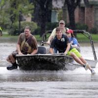 Как ураган Харви разрушает Техас