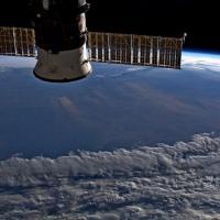 Итальянский космонавт снял австралийские пожары с борта МКС. Вот как это выглядит