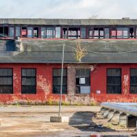 Начался снос бывшего троллейбусного депо в Минске