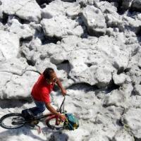«Такого еще не видели». В Мексике выпал толстый слой снега