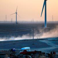 В 2018 году Китай установил почти 10 ГВт ветровых мощностей
