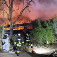 При пожаре в немецком зоопарке погибли десятки животных