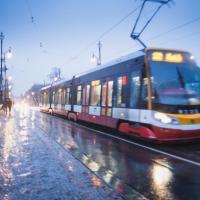 Парниковые выбросы в городе дешевле измерять с помощью трамваев