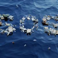 Бренд Converse создал виртуальный магазин кед на мусорном острове в Тихом океане