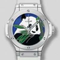 Коллекцию люксовых швейцарских часов «Hublot» посвятили пандам