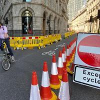 В центре Лондона избавляются от парковки