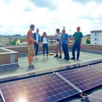 Берлин будет получать четверть необходимой энергии от солнца