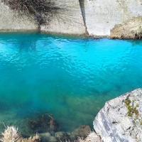«Могилевские Мальдивы». Речка Дубровенка окрасилась в необычно яркий цвет
