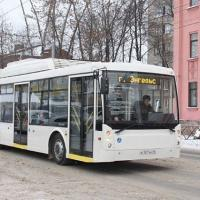 Первый в России электробус проехал по улицам Ярославля