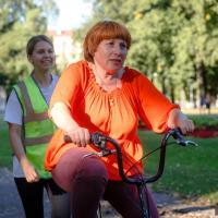 У минчан снова появилась возможность бесплатно научиться ездить на велосипеде