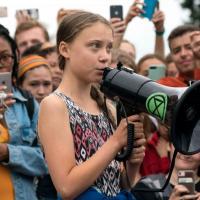 Климатические забастовки Греты Тунберг перешли в онлайн. Причиной этому коронавирус