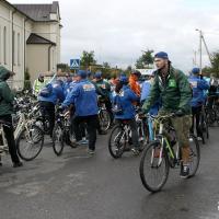 Велопробег «Bike 4 SDGs»: послы, министры и колясочники накрутили километраж по Воложинщине