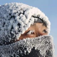 Как выглядит настоящий холод. В Якутии лютые морозы, и температура продолжает падать