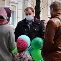 «Мы не получили ни одного ответа». Активист провел информационную акцию против СЭЗ в Могилеве