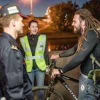 Рейд «Ночной стелс» вернулся на минские улицы: велосипедисты, будьте внимательны!