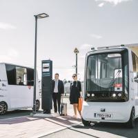 В Эстонии на маршруты выйдут первые в мире беспилотные микроавтобусы на водородном топливе