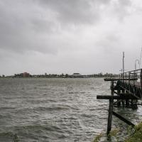 В США ураган изменил течение реки