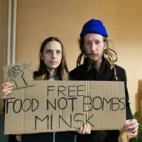 «Солидарность наша сила!» Акции солидарности с минской группой «Еда вместо бомб» по всему миру