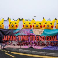 Пикачу во время саммита G7 призвали Японию отказаться от угля