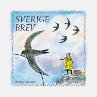 В Швеции выпустили почтовые марки с Гретой Тунберг