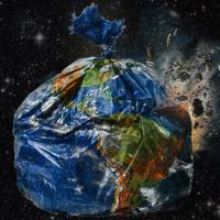 Праблема смецця выйшла далёка за межы планеты