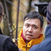В Петербурге умер эколог Greenpeace Рашид Алимов