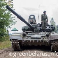 На танкодроме в Гродно протестировали  продукцию из отходов