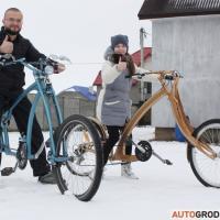 Гродненец делает уникальные велочопперы: «Прохожие думают, что эти велосипеды мне присылают из Америки»
