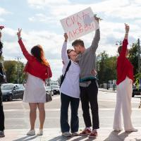 У Беларуси – женское лицо. Большой фоторепортаж с белого протеста