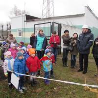 Детям сада-яслей в Ошмянах рассказали, как работет трансформатор