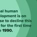 COVID-19: впервые с 1990 года человеческое развитие берет курс на снижение