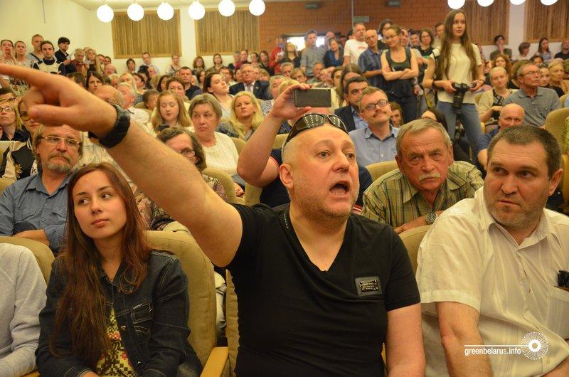 Презентация проекта застройки Осмоловки в Минске