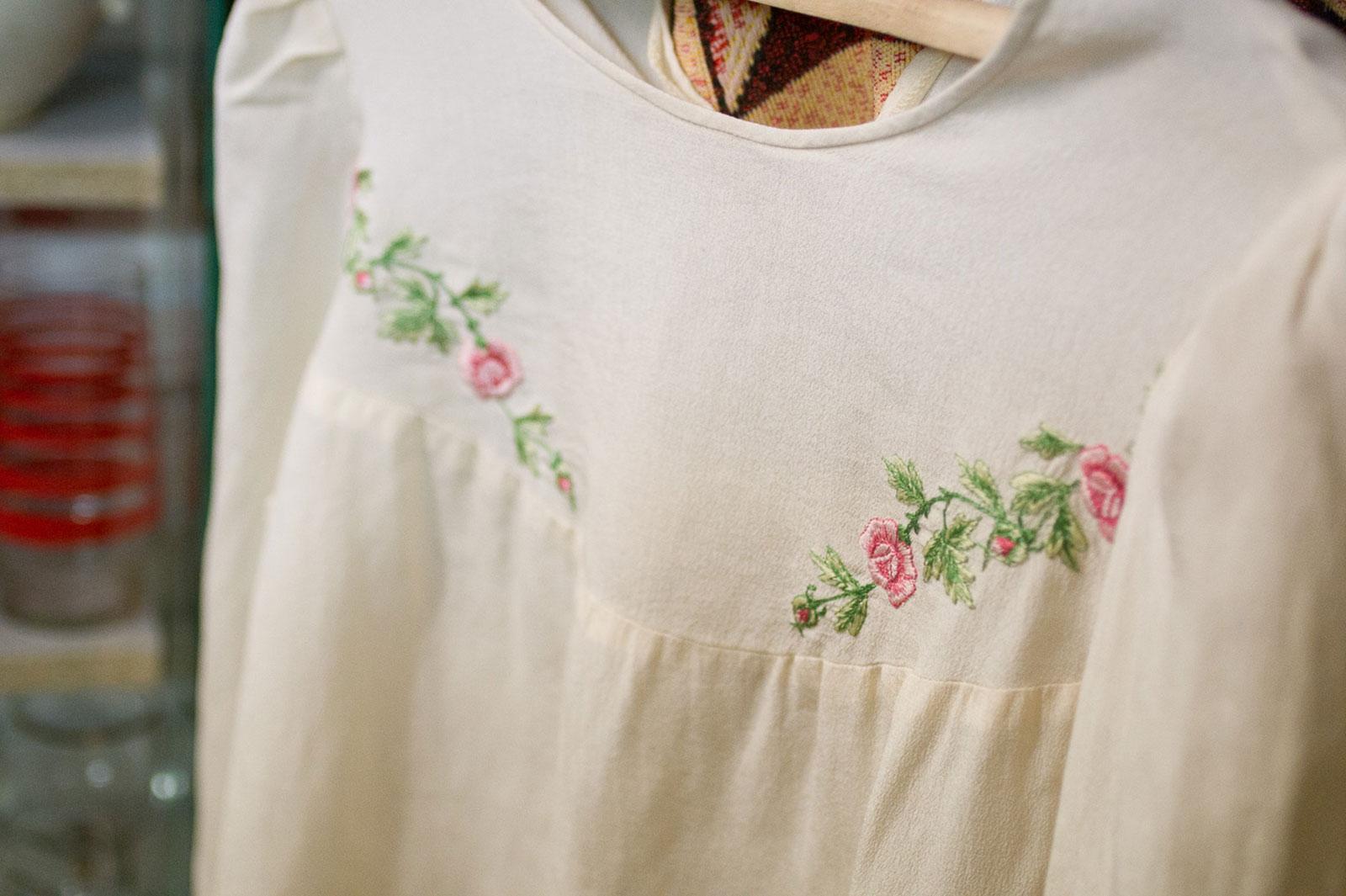 Блузка 1930-1940 гг, ручная вышика. Ретро-магазин в России