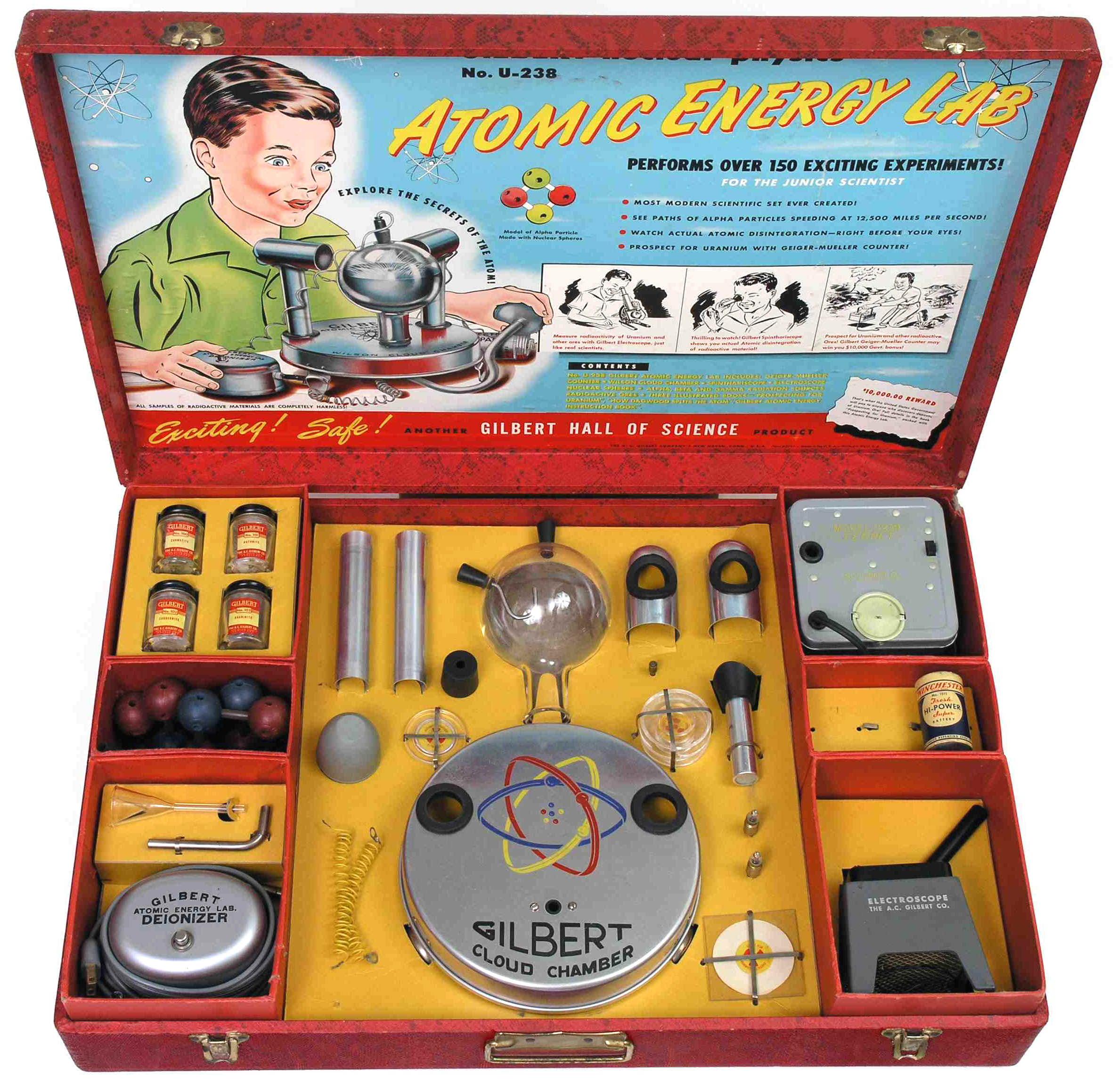 Радиоактивная игрушка 50 х стала