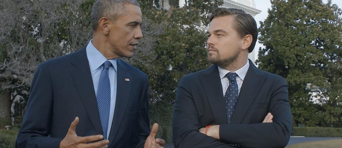 Кадр из фильма с Бараком Обамой