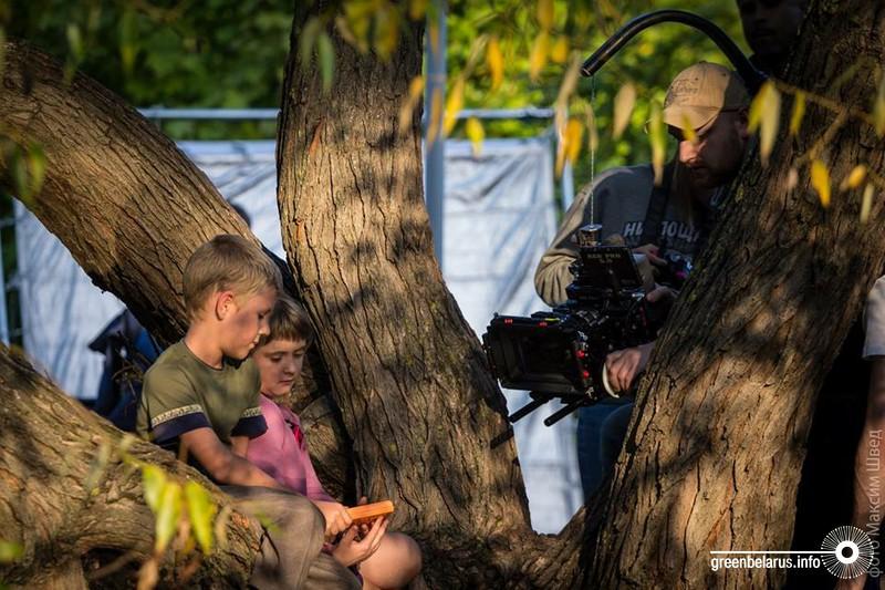 Творческий коллектив «Fifteen» в процессе создания кино