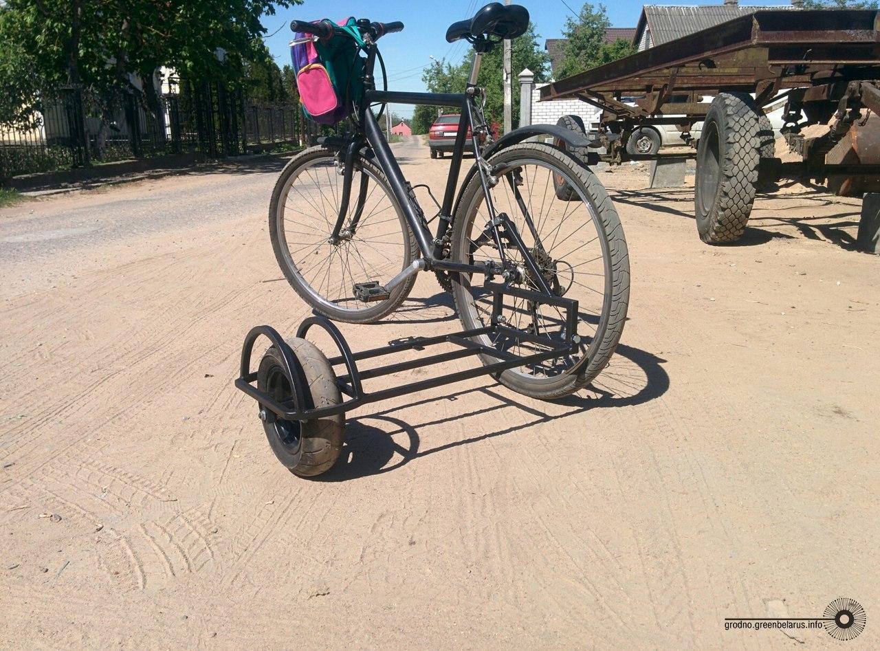 Велосипедный прицеп: разновидности и как сделать его 9